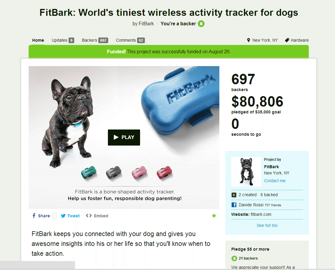 kickstarter | 10 Reasons why 2013 was pretty pawsome