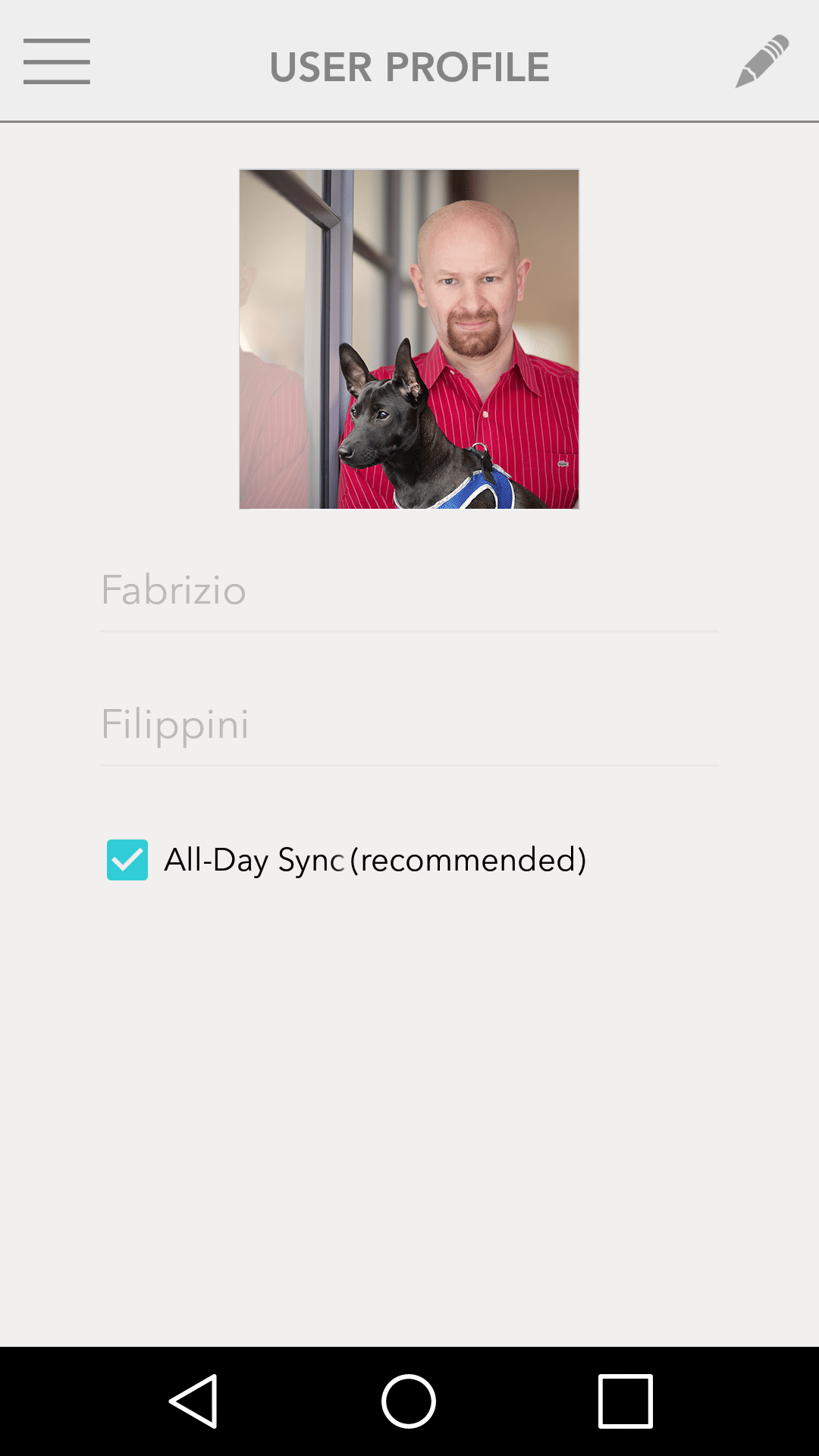 FitBark_Android_All_Day_Sync | Does the FitBark mobile app sync in the background?