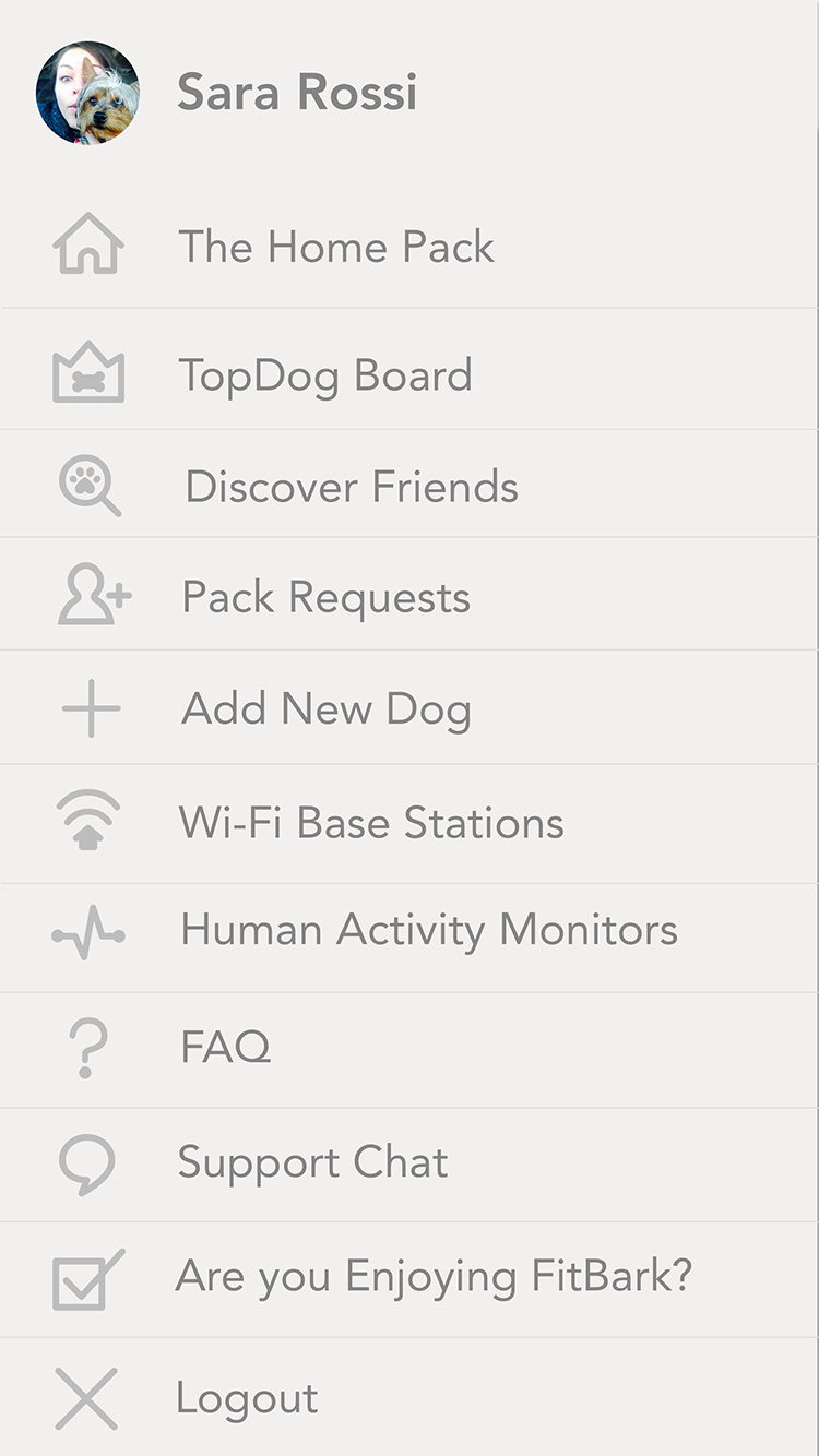 FitBark_Settings | How can I link a human activity monitor?