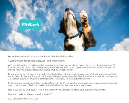 FitBark Explore About