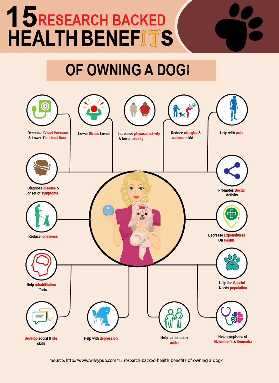 FitBark_15_Health_Benefits_info | 15 Research Backed Health Benefits to Owning A Dog