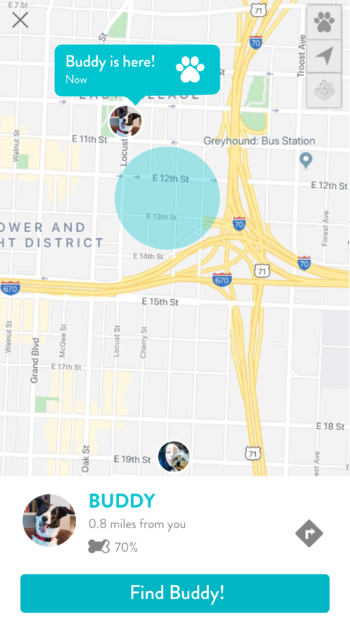 FitBark_Tracking-Screen-Find-Buddy-350x626 | How does the FitBark GPS locate my dog?