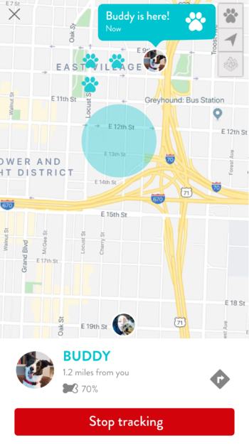 FitBark_Tracking-Screen-Stop-Tracking-350x626 | How does the FitBark GPS locate my dog?